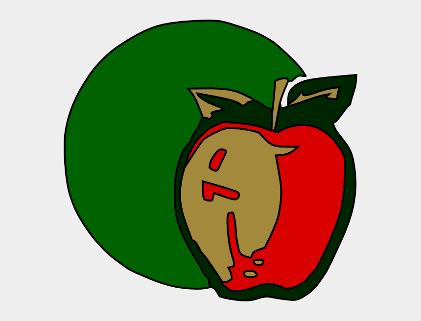 apple fruit clipart, Cartoons - Apple Fruit Plant - Ruch Okrężny W Gospodarce