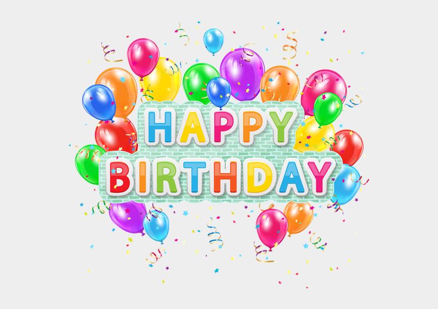 birthday clipart for man, Cartoons - Clipart Balloon Man - Happy Birthday Png Text