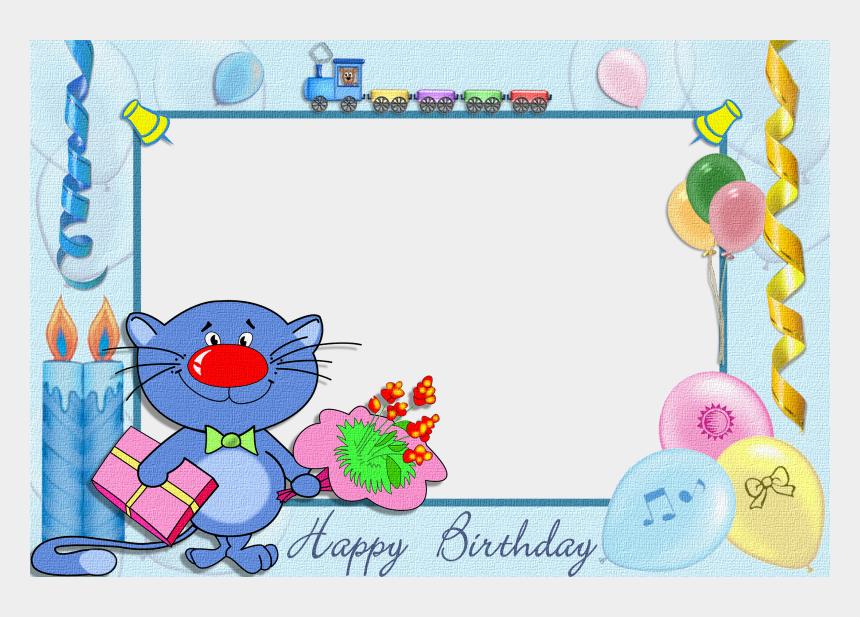 birthday boy clipart, Cartoons - Kids Transparent Birthday - Happy Birthday Frames Boy