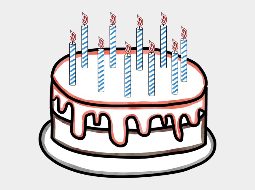 Cake Clipart 10 Candle Birthday Cake 10 Candles Cliparts Cartoons Jing Fm
