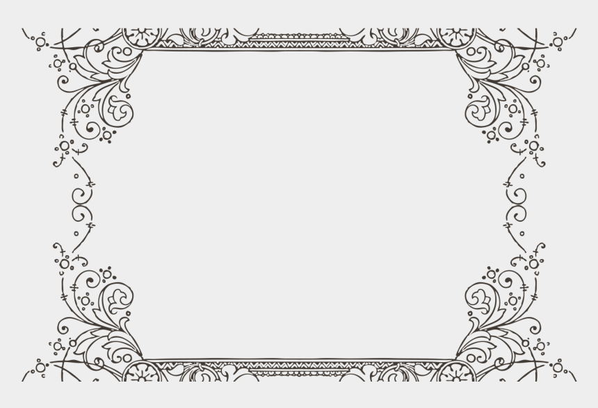 decorative frame clipart, Cartoons - Gorgeus Clipart Decorative Frame Pencil And In Color - Border For Google Slides