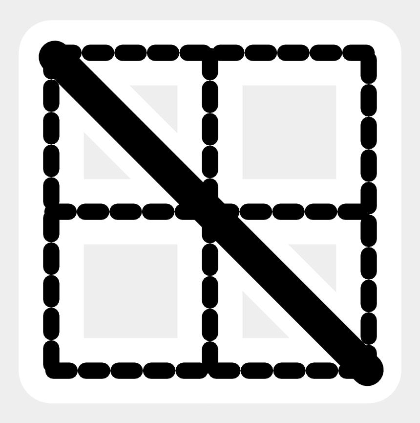 fall border clipart, Cartoons - Mono Border Fall - Frame Grid Png