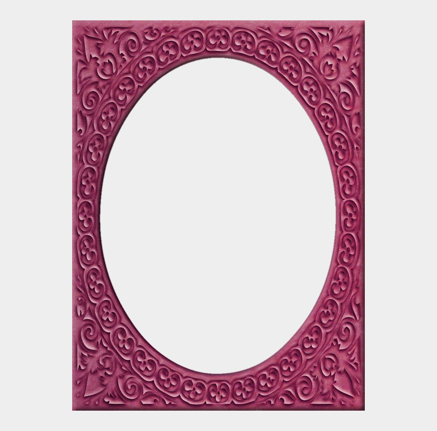 fancy frame clipart, Cartoons - Presentation Photo Frames - Circle