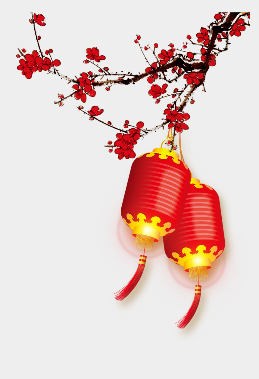 chinese lantern clipart, Cartoons - #lanterns #cherryblossoms #chinese #asian #ftestickers - Happy Chinese New Year 2019