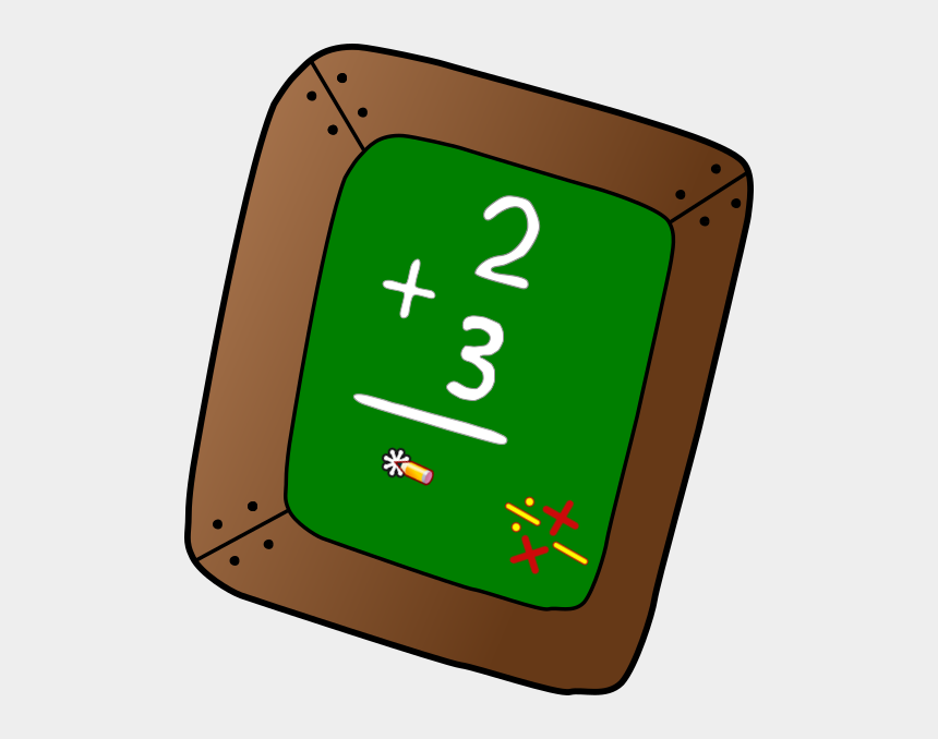 addition clipart, Cartoons - Ardoise Addition Clip Art - Apple Clipart Teacher