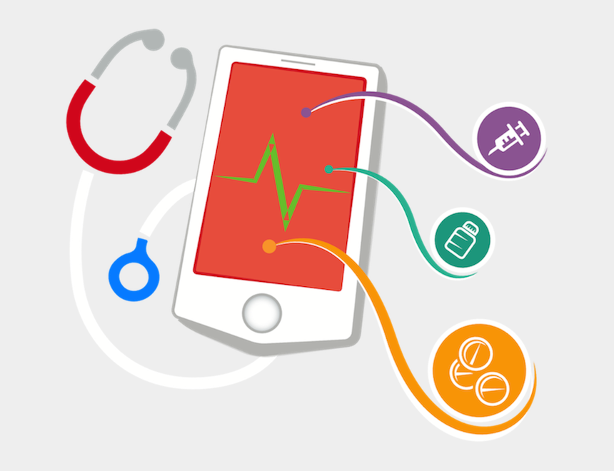 application clipart, Cartoons - When You Develop Mobile And Web Applications With Vigyanix, - Healthcare Applications