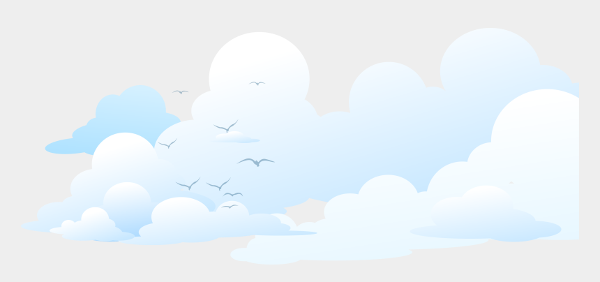 brand clipart, Cartoons - Brand Sky Cloud Blue - Animated Transparent Background Cloud Png