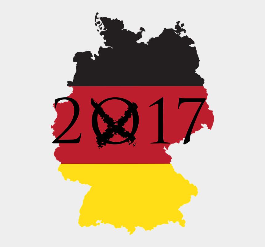 sektglas clipart, Cartoons - Germany Map Flag * .png