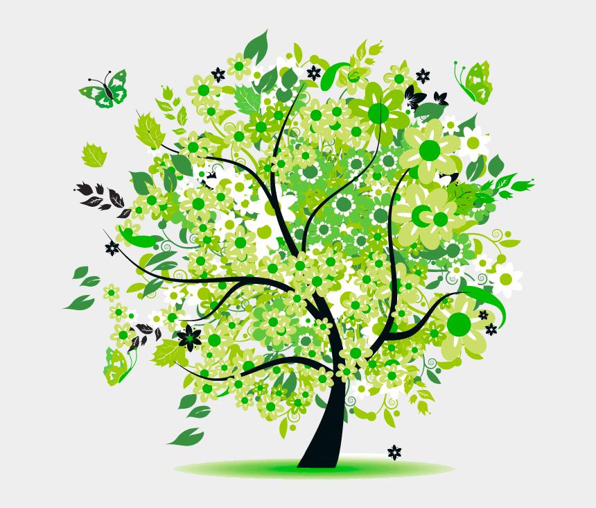 frühling clipart, Cartoons - Digitaldruck Firmenbekleidung Fantrikot Flex Flock - Tree Of Life Free
