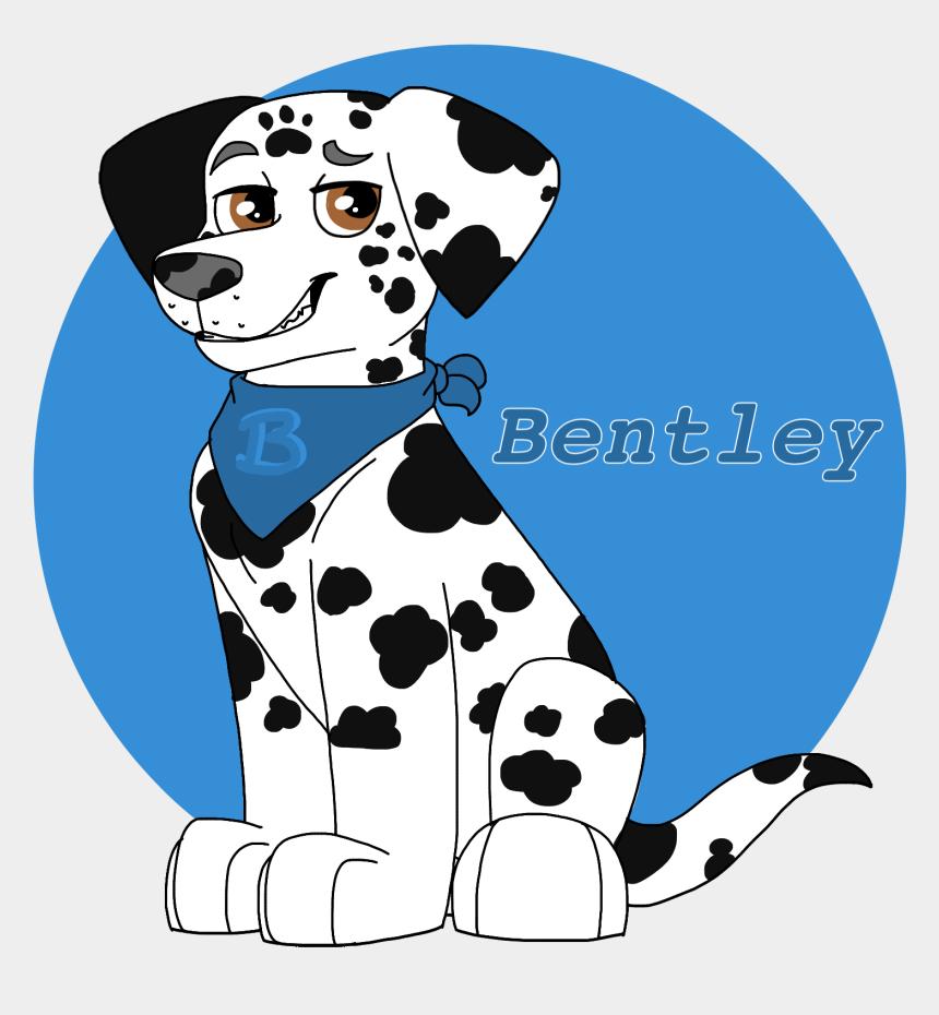 puppy paw clipart, Cartoons - Dalmatian