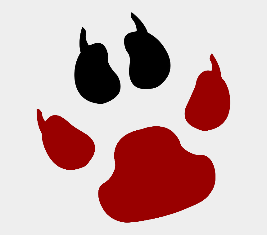 tiger paw clipart, Cartoons - Tiger Paw Transparent Background Clipart , Png Download - Jack Russell Paw Print