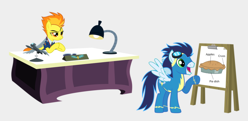 school desk clipart, Cartoons - Clip Charts Desk - My Little Pony Office