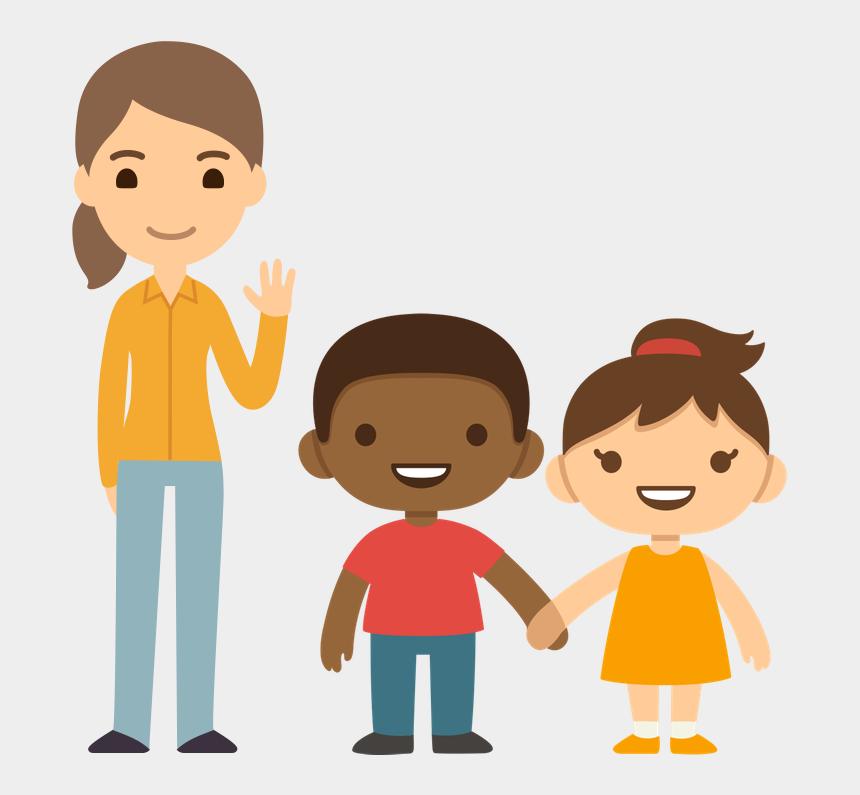meet the teacher clipart, Cartoons - Meet Your Digital Teacher Aide - People Holding Hands Cartoons