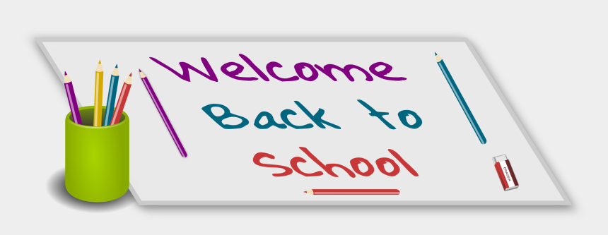 welcome back to school clipart, Cartoons - Welcome Back To School Picture Freeuse Library - Welcome Back To School Animated Clipart