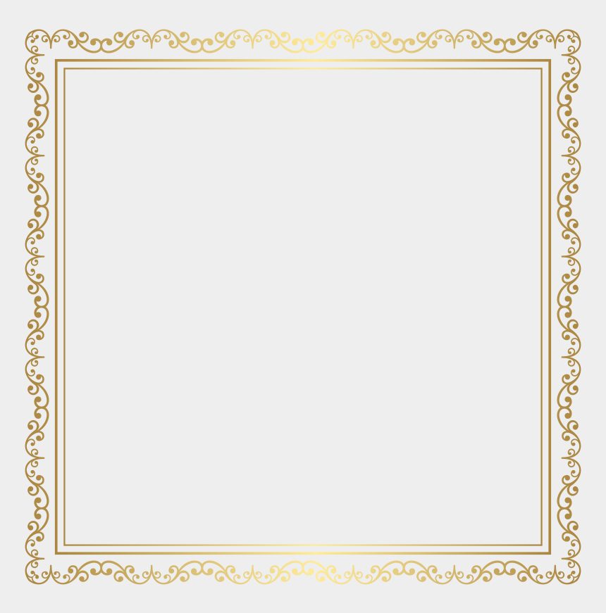 clipart sommerfest, Cartoons - Pin Clip Art Borders Free Download - Transparent Gold Border Frame