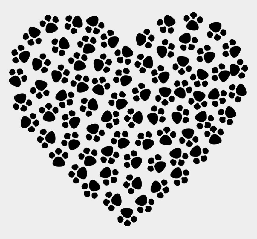 clipart boże narodzenie, Cartoons - Zdjęcie Pochodzi Z Pixabay - Heart With Paw Print
