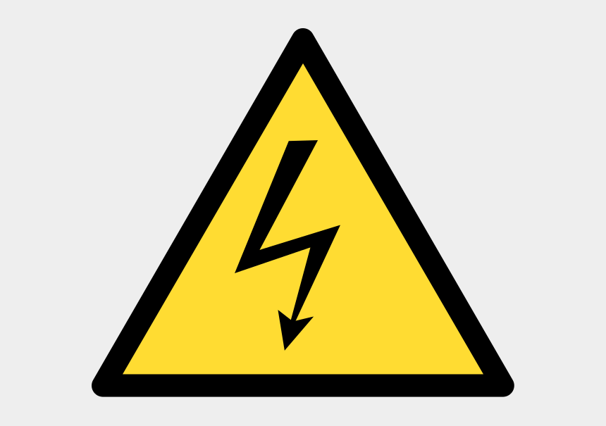 warning sign clipart, Cartoons - Download - Warning Signs Electric Shock