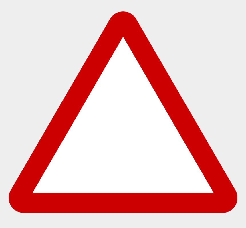 warning sign clipart, Cartoons - Triangle Warning Sign - Triangle Warning Icon Png