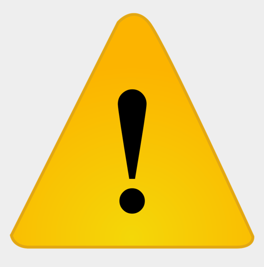 warning clipart, Cartoons - Flat Warning Icon Png