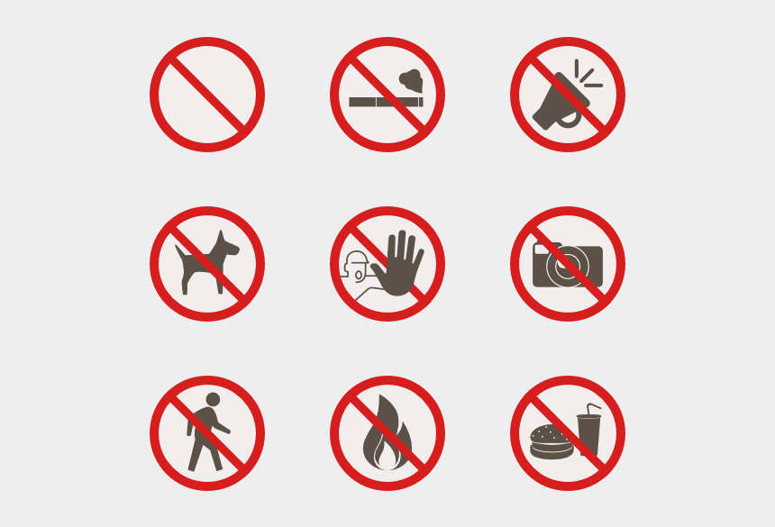 warning sign clipart, Cartoons - Warning Signs - Poster No Drinking And Driving
