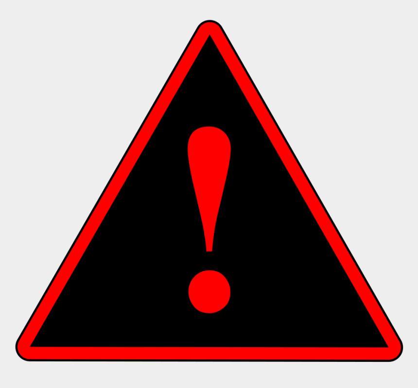 warning clipart, Cartoons - Red Black Red Warning 1 Svg Clip Arts 600 X 534 Px - Red Warning Sign Transparent
