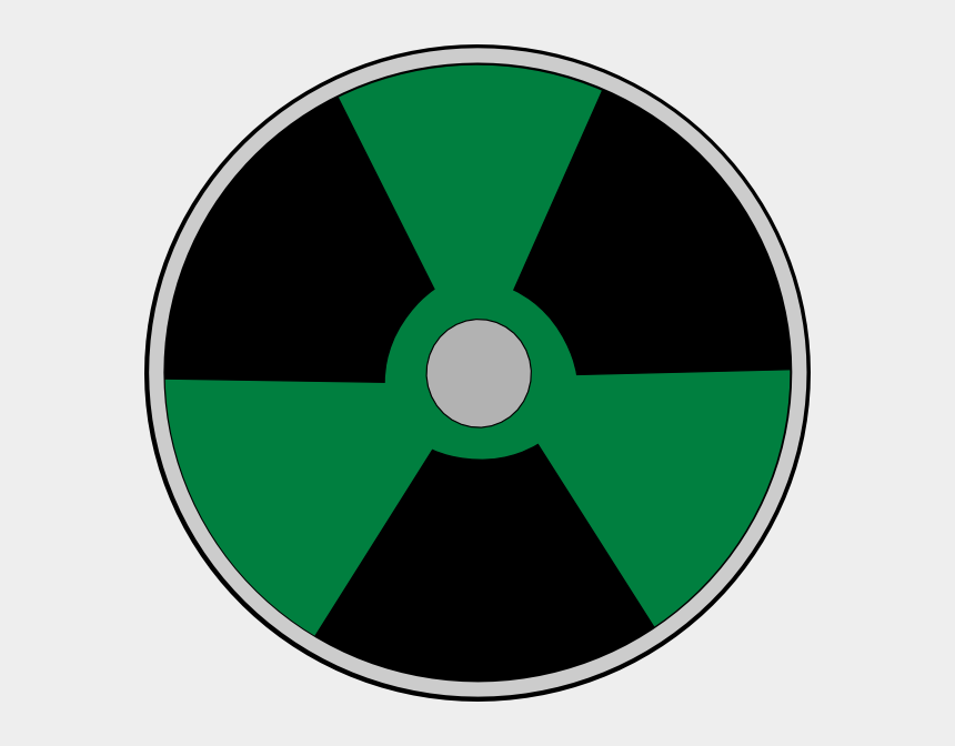 warning clipart, Cartoons - Atomic Warning - Circle