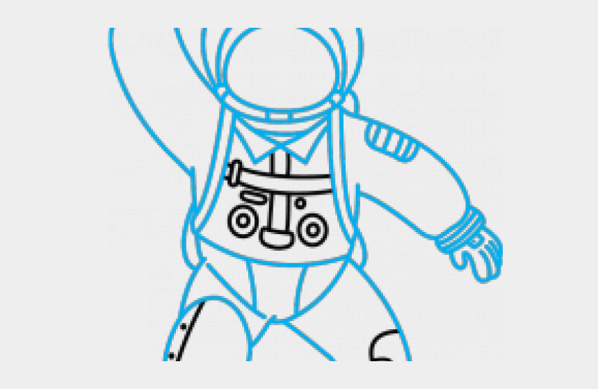 occupation clipart, Cartoons - Drawn Astronaut Occupation - Transparent Background Astronaut Clipart