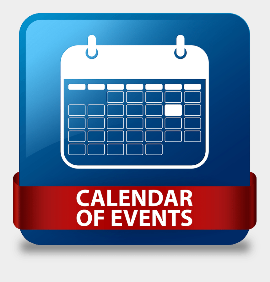mark your calendar clipart, Cartoons - Calendar Of Events Button
