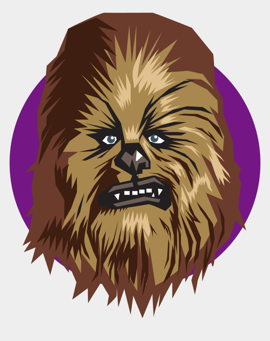 star wars clipart black and white, Cartoons - Star Wars Emoji - Chewbacca Emoji