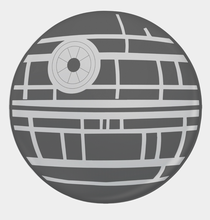 death star clipart, Cartoons - Death Star , Png Download - Paint The Death Star