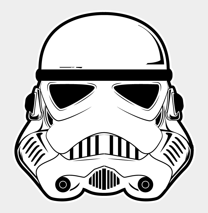 stormtrooper clipart, Cartoons - Anakin Skywalker Stormtrooper Chewbacca Vector Graphics - Star Wars Clipart Png