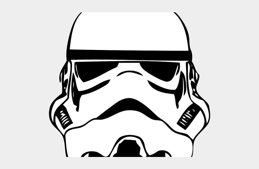 star wars clipart black and white, Cartoons - Star Wars Clipart Transparent Background - Star Wars Stormtrooper Desenho