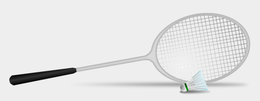 play tennis clipart, Cartoons - Badminton Shuttlecock Racket Ball Game Playing - Badminton Png