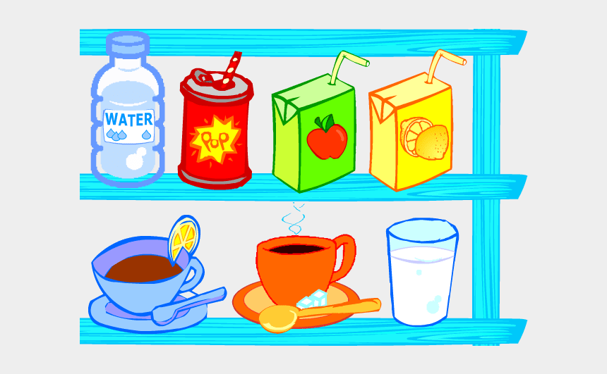 food and drink clipart, Cartoons - Food And Drink In - Kids Drinks Clip Art