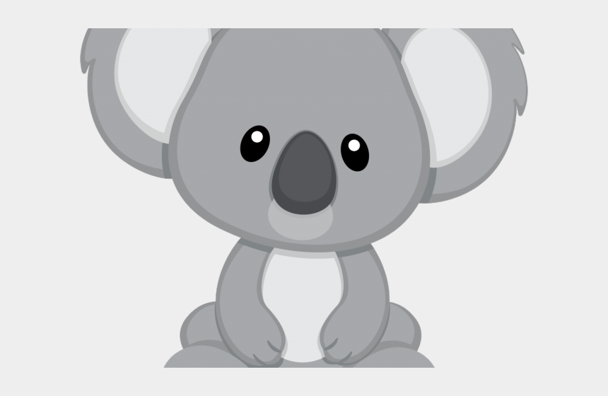 teddy bear clipart black and white, Cartoons - Koala Bear Clipart Cute - Cute Baby Koala Clipart