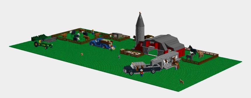 farm scene clipart, Cartoons - Lego Ideas - Farm Scene - Lego Farm Ideas