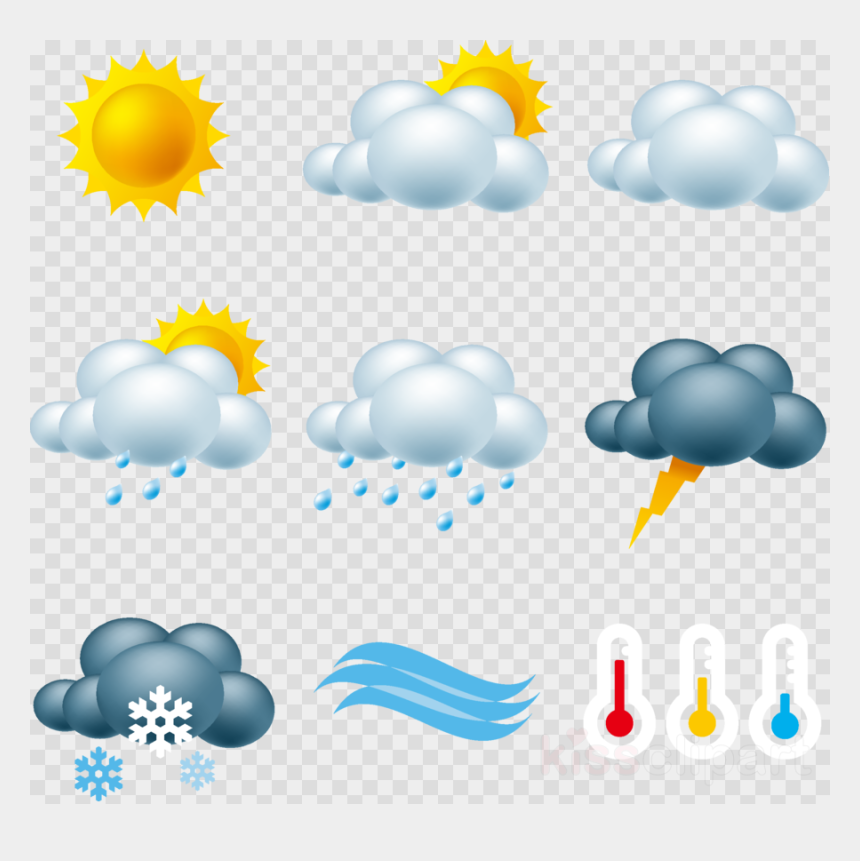 weather forecast clipart, Cartoons - Weather Forecast Weather Icon Png Clipart Weather Forecasting - Transparent Background Weather Forecast Icons