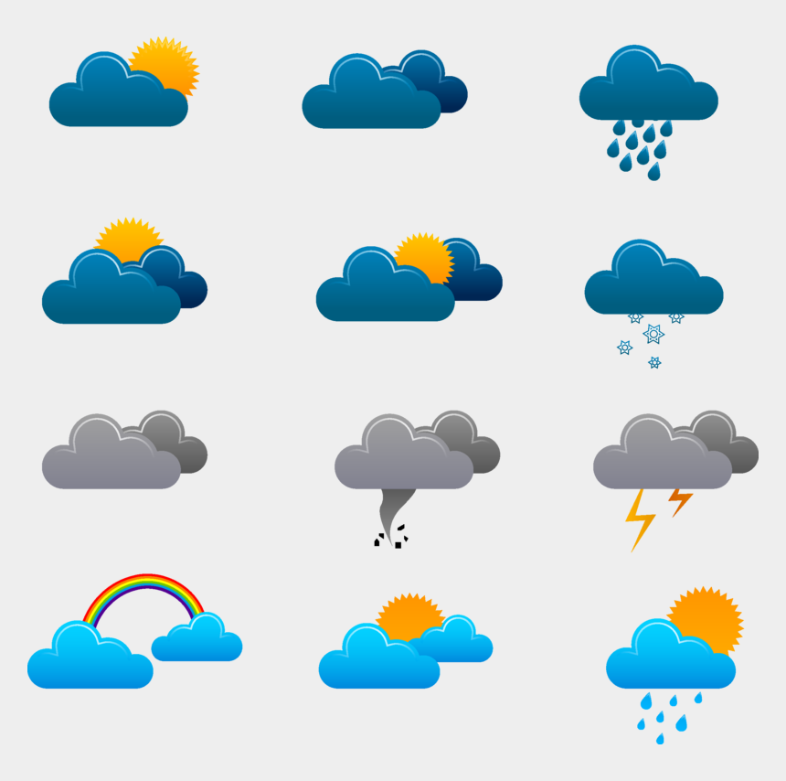 weather forecast clipart, Cartoons - Forecasting Weather Forecast Icon Free Photo Png - Weather Icons Png