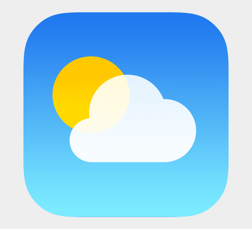 clipart weather symbols, Cartoons - 157840 Preview - Iphone Weather Icon Png