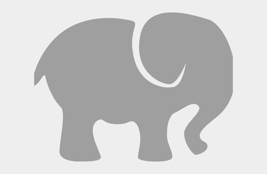 elephant face clipart, Cartoons - Trunk Clipart Cute Elephant Face - Cute Elephant Silhouette Clip Art