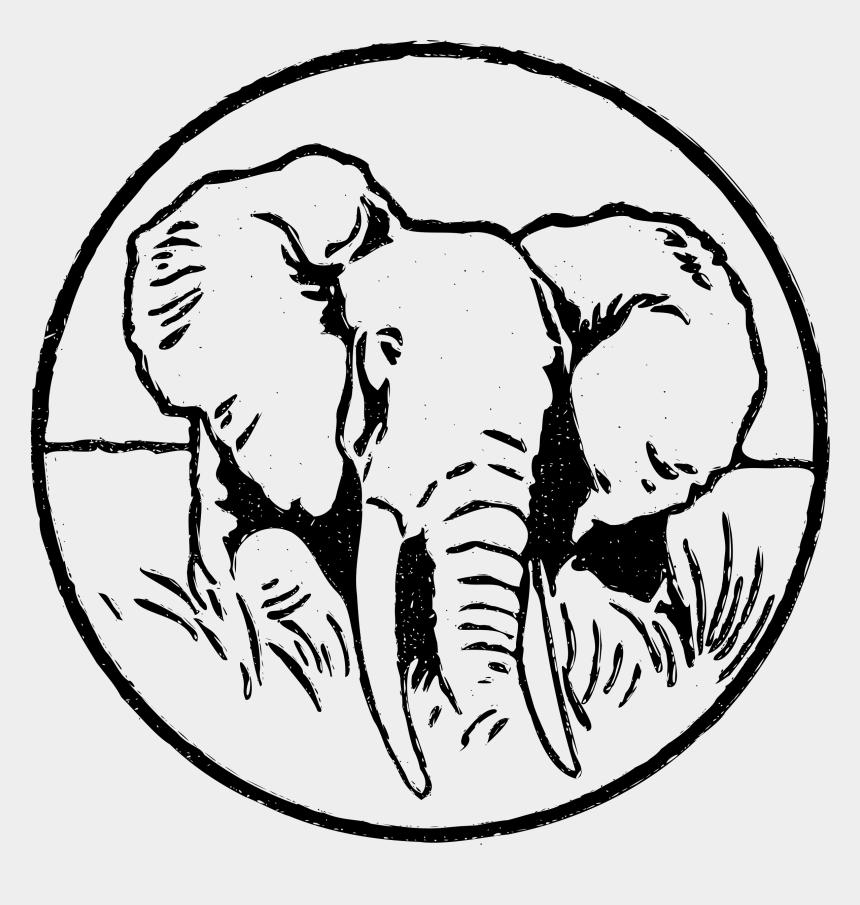 elephant head clipart, Cartoons - Big Image - Indian Elephant