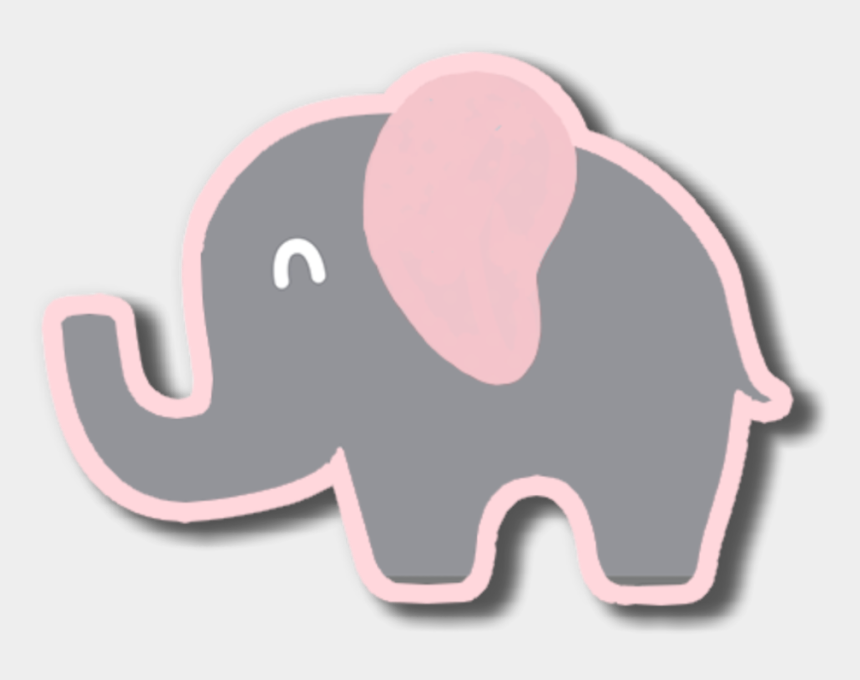 elephant clipart baby shower, Cartoons - #pink #elephant #animals #babyshower #baby #decoration - Indian Elephant