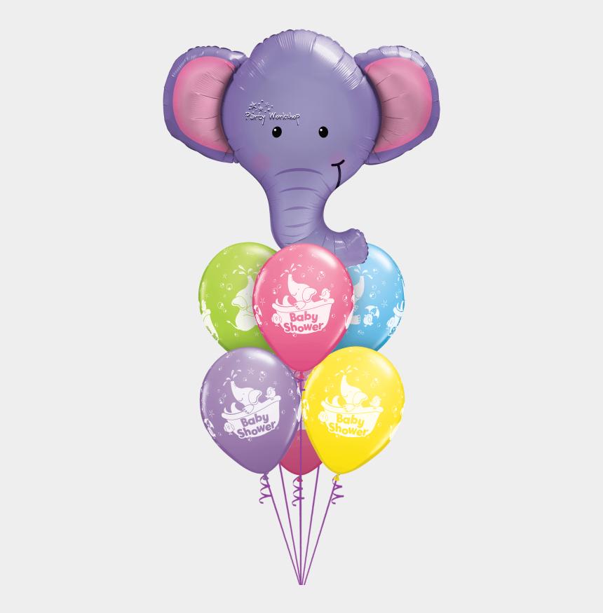 elephant clipart baby shower, Cartoons - Baby Shower Elephant Luxury - Elephant Foil Balloon