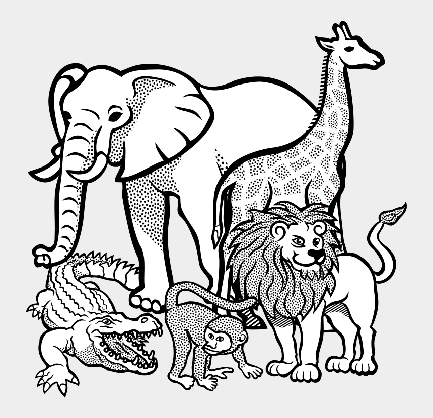 elephant face clipart, Cartoons - Drawing Elephants Color - Animal Colouring Page