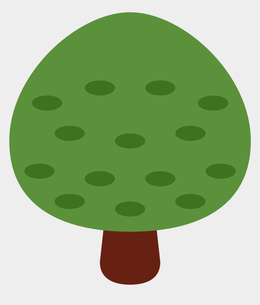 clipart weihnachtsbaum, Cartoons - Deciduous Tree Emoji