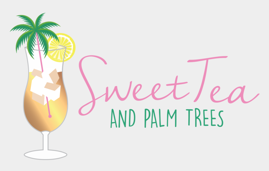 iced tea clipart, Cartoons - Sweet And Palm Trees - Stiforp