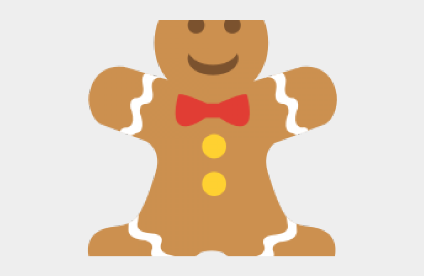 gingerbread cookie clipart, Cartoons - Christmas Gingerbread Man Png