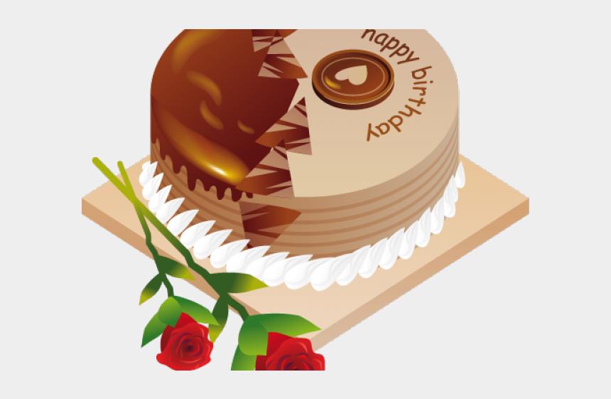 chocolate cake clipart, Cartoons - Chocolate Cake Clipart Balloon Png - Birthday Cake