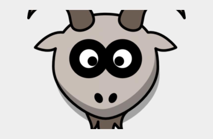 goat clipart black and white, Cartoons - Goat Clipart Angora Goat - Goat Head Clipart