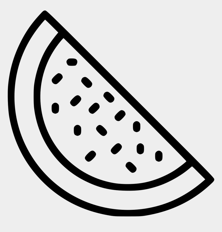 watermelon clipart black and white, Cartoons - Watermelon Clipart Juicy Watermelon - Icon